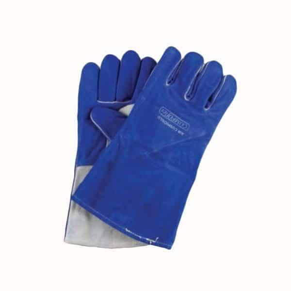 Blue Welding Gauntlet