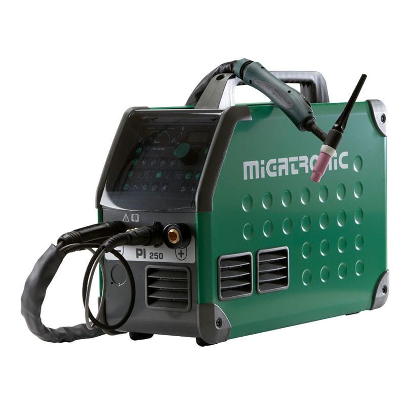 Migatronic PI 250 AC/DC TIG with Ergo 221 4m Torch | ProWeld