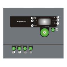 Migatronic Zeta Control Panel